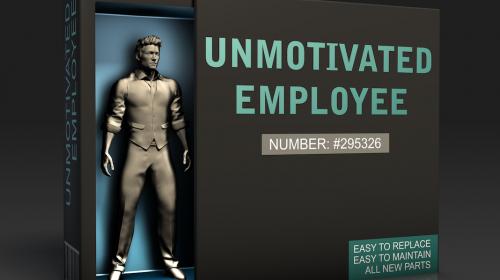 ITO - unmotivated employee